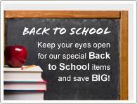 Sparen Sie jetzt bei unseren Schulanfangsrabatten!